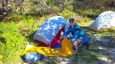 Tony AKA Darb's tent
